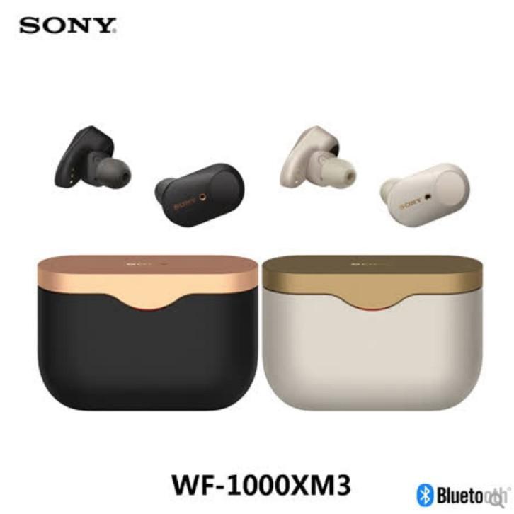 SONY WF-1000XM3 真無線 入耳式 藍牙降噪耳機 降噪豆 藍芽5.0【eYeCam】現貨 美國代購 原裝正品