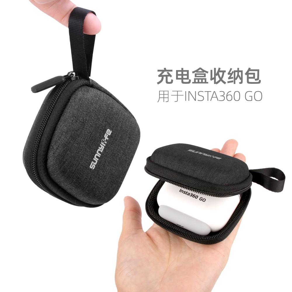 缺货中 Sunnylife Insta360 Go拇指防抖相機充電盒收納包防摔攝像配件