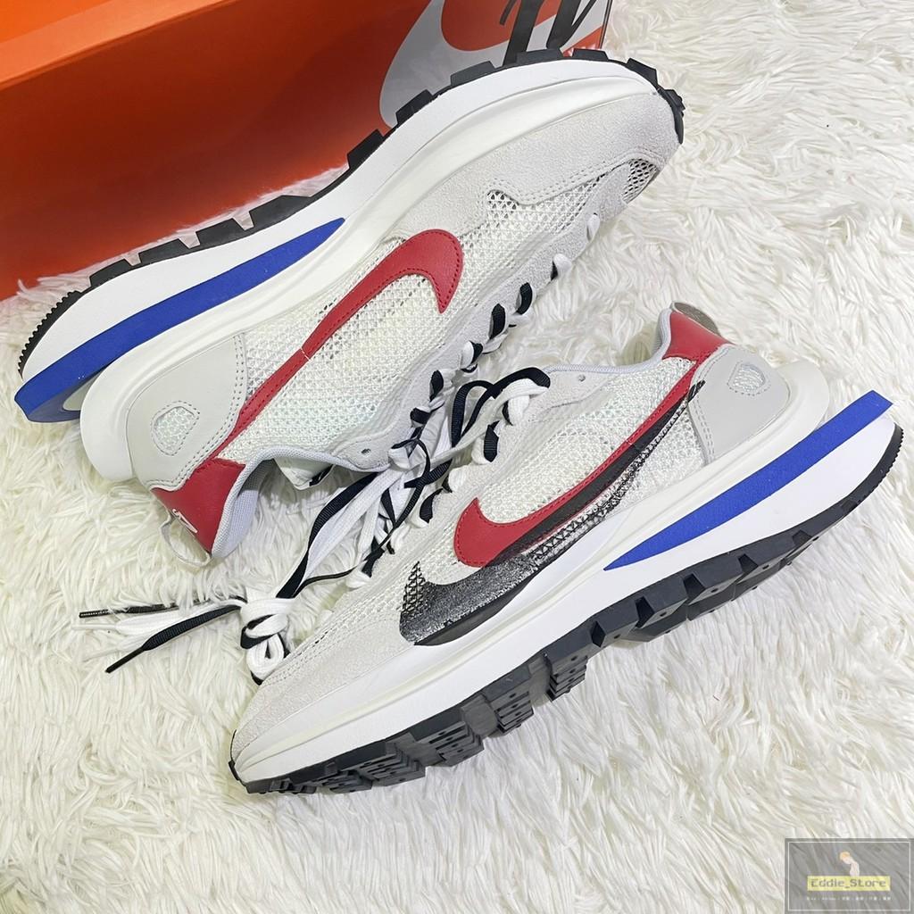 |Eddie_Store|Sacai x Nike vaporwaffle 解構 雙勾 白藍 現貨 CV1363-100