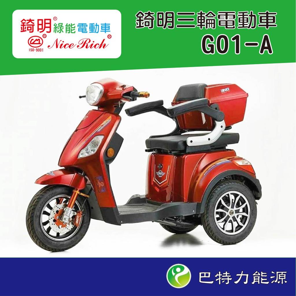 《巴特力電動車》錡明電動車Nice Rich G01 A款 綠能電動自行車