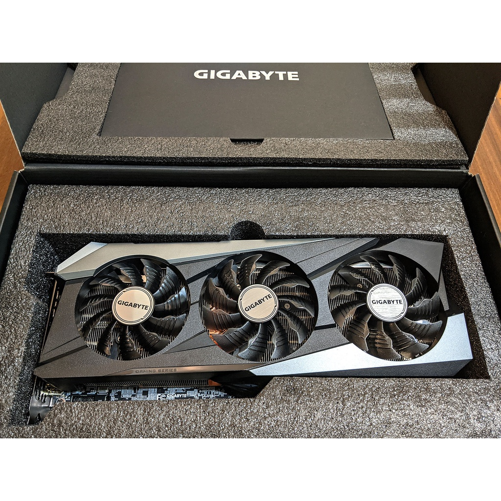 GIGABYTE RTX 3070 Ti GAMING OC 8G (換卡6800XT或6900XT)