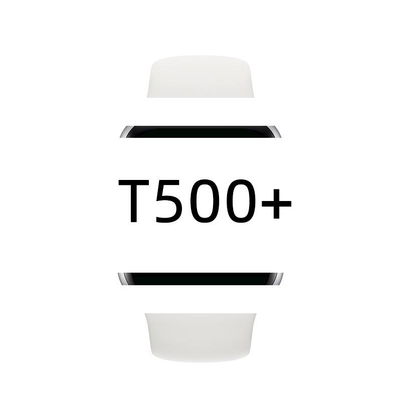 【熊熊數碼】T500+PLUS智能電話手錶高清全觸屏手環血壓血氧監測計步 智能手環