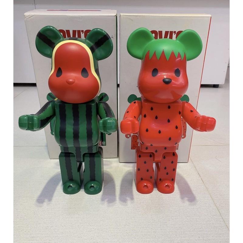 be@rbrick clot 庫柏力克十年老熊西瓜草莓400%