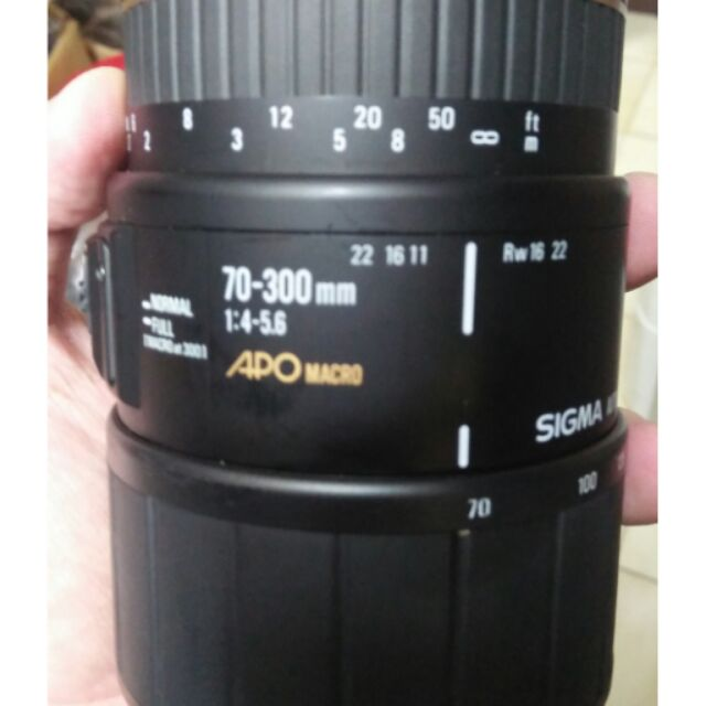 鏡頭 單眼相機 二手。超音波 sigma for Sony a minolta 70 300mm apo af
