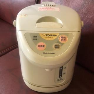 含運日本製象印牌電動給水熱水瓶CD-EPK22型2.2L 新北市