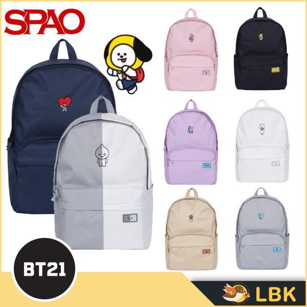【沖好評 限時特價】BT21 x SPAO 聯名款後背包