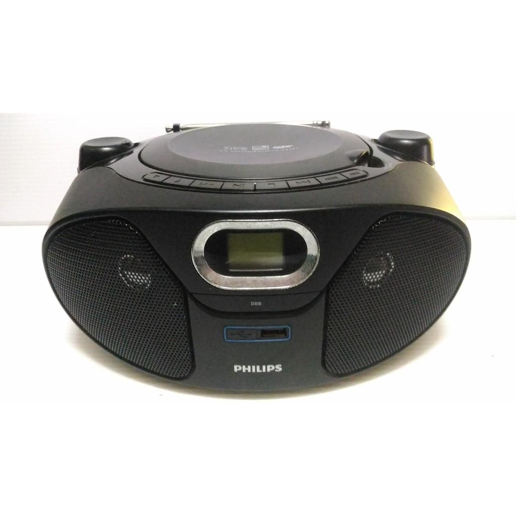 飛利浦Philips AZ382/96 CD 播放機 AZ382 USB 音響 收音機