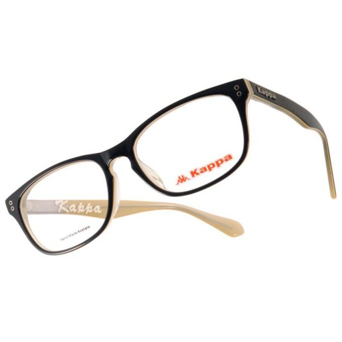 KAPPA 光學眼鏡 KP1030 BK3 簡約方框款-金橘眼鏡