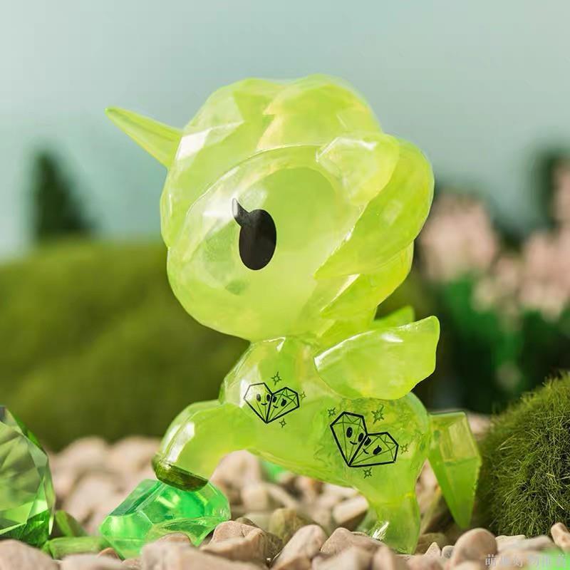 【正版】tokidoki 淘奇多奇獨角獸鑽石款盲盒 可愛盒抽公仔手辦娃娃 二次元擺件#666