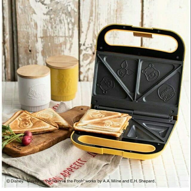現貨在途 Disney Doshisha 米奇/小熊維尼熱壓三明治 鬆餅機