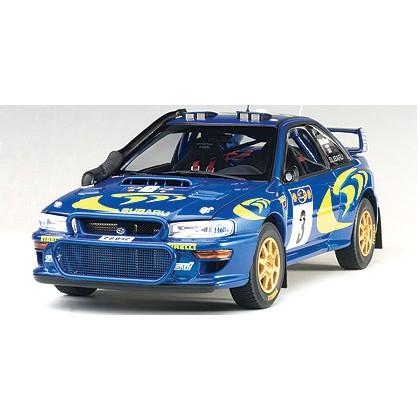 Autoart 奧拓 1:18 斯巴魯 SUBARU IMPREZA WRC 1997 #3