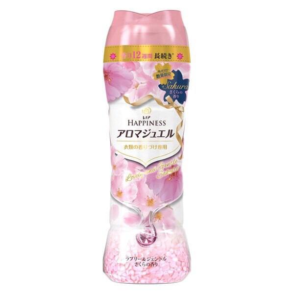 【WHOLE 買家】日本櫻花限定洗衣香香豆 520ml