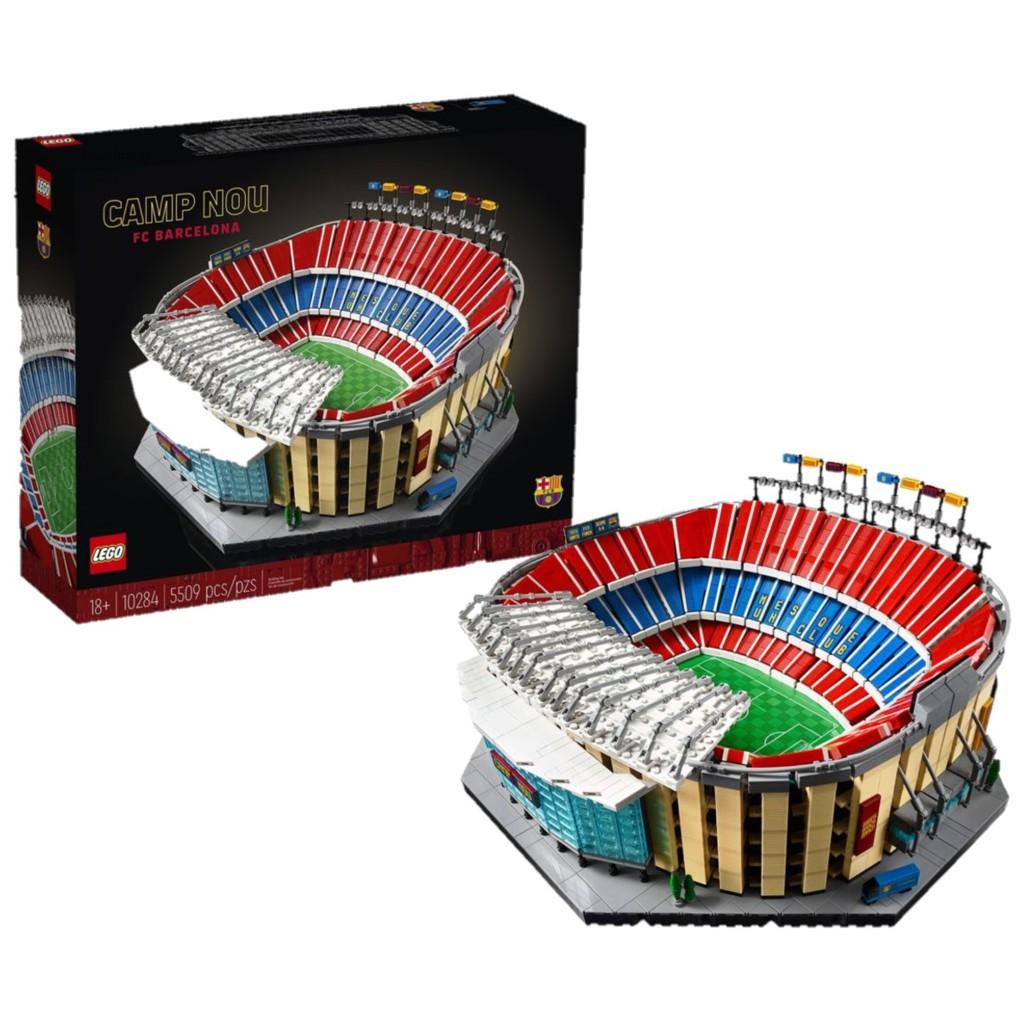 現貨可刷卡【Mr.Brick】LEGO 10284 Camp Nou – FC Barcelona 諾坎普球場