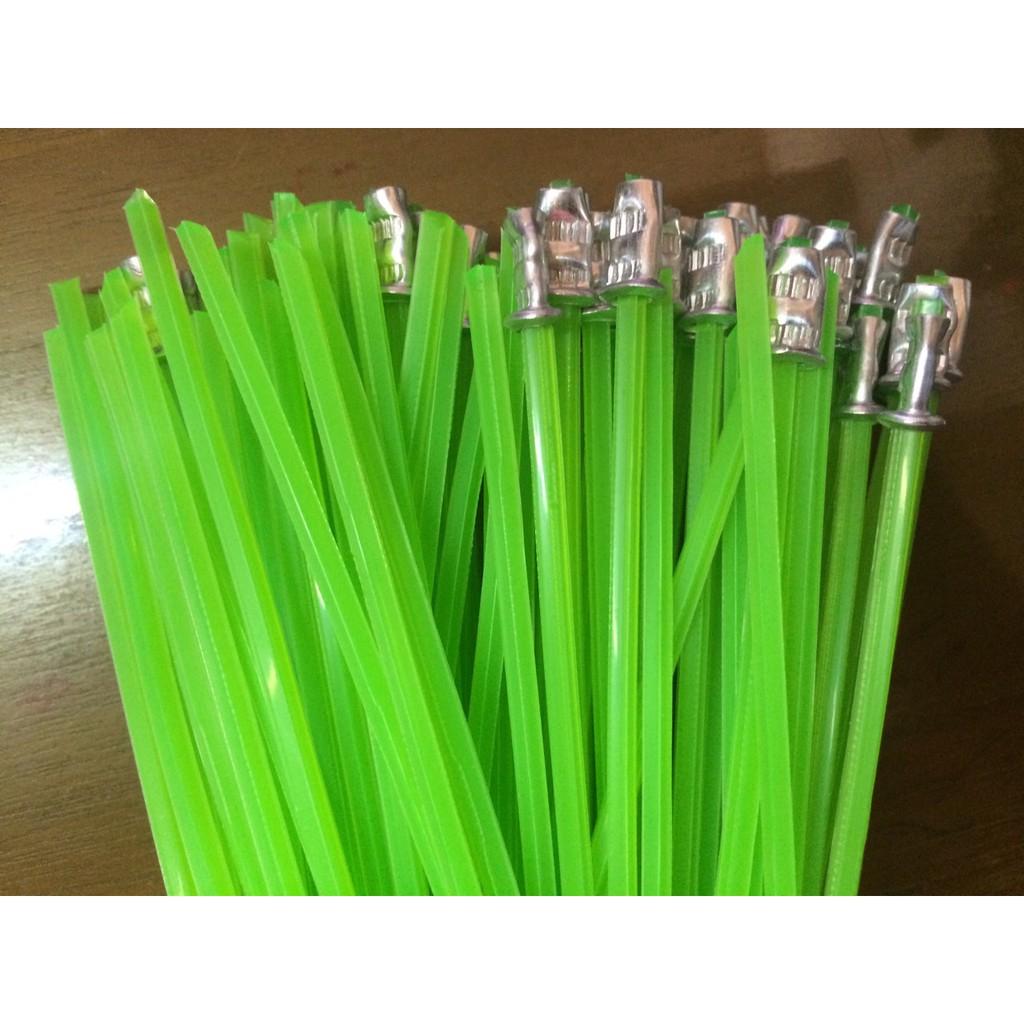 ㊣成發機械五金批發㊣台灣製造 割草機 除草機 綠色 五角 牛筋繩 星形 牛筋線 牛筋條 螢光綠 超耐磨 每包100條