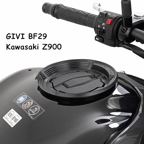 Y.S GIVI BF29 Kawasaki Z900 快拆式油箱包底盤轉接座/固定座/油箱包/龍骨包