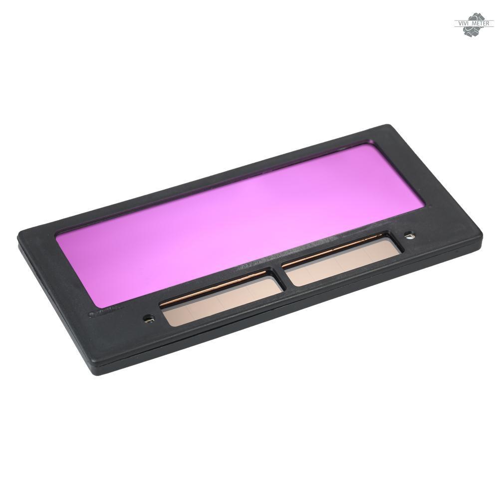 VIVI 光控變色鏡片電焊面罩專用焊接鏡片太陽能自動變光液晶鏡片變光片