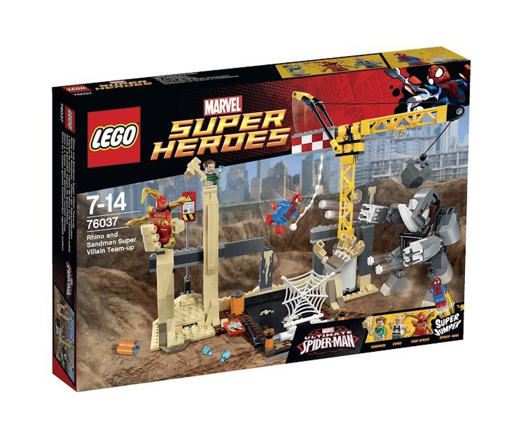 【假日車庫樂高】2015 LEGO 樂高 《超級英雄系列》76037 犀牛與睡魔的超級惡霸