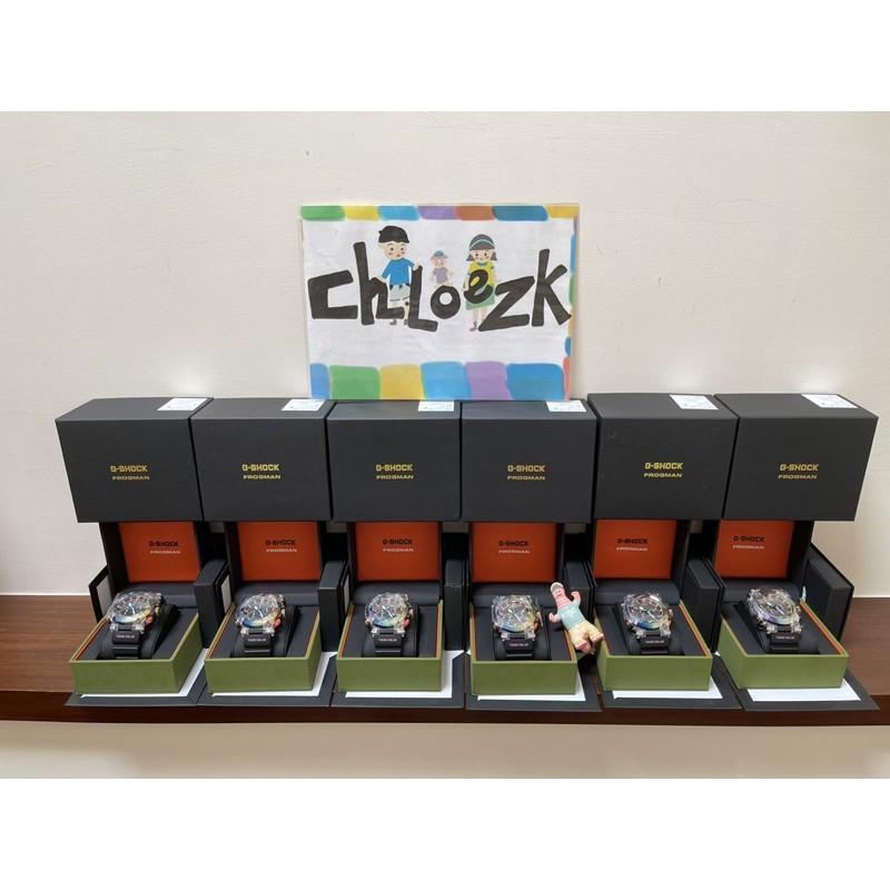[CHLOE ZK]G-SHOCK FROFMAN GWF-A1000BRT-1 彩虹毒蛙