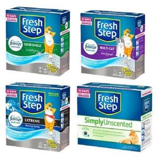 Fresh Step 菲麗思天然強效清香貓砂  藍鑽   42lBs 25lBs   Ever Clean
