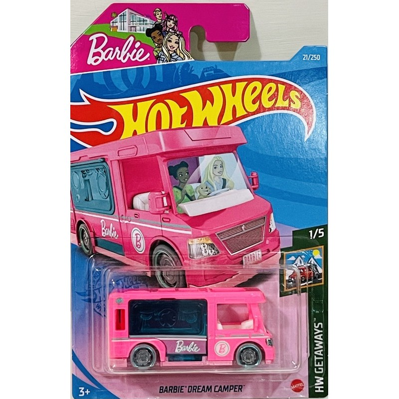 風火輪小汽車 芭比娃娃露營車 BARBIE DREAM CAMPER