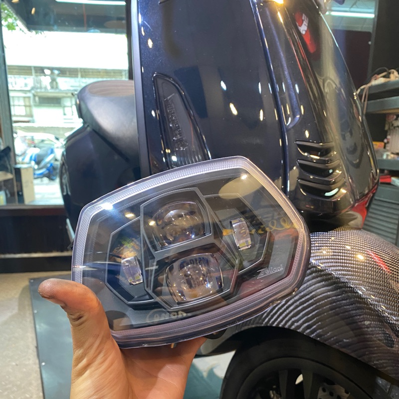 Vespa 偉士牌 Z牌 衝刺大燈總成 LED大燈總成