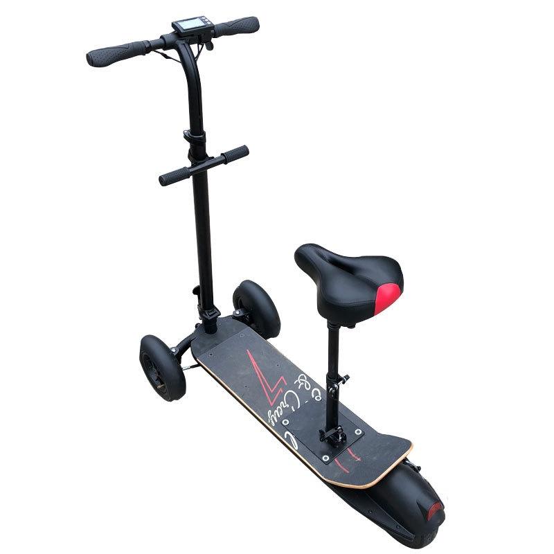 【熱賣】電動滑板車 廠家批發三輪電動滑板車 8.5寸成人代步車 可折疊