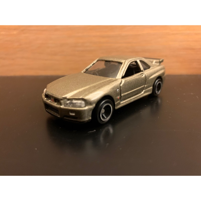 Tomica 20 Nissan Skyline GT-R R34 金色 無盒