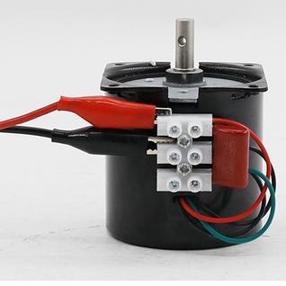 ?即將完售 ?220v交流同步電機14w微型齒輪減速電機110V雙向低速電動機 小馬達 DvCO