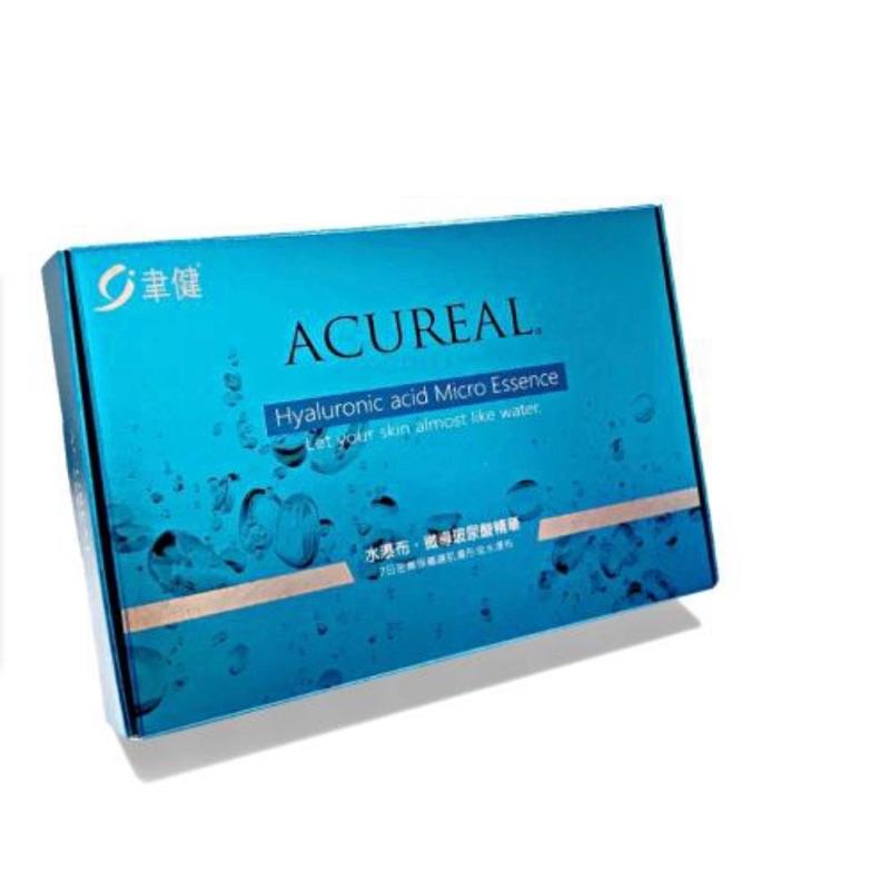 ACUREAL 水瀑布 ‧ 玻尿酸精華(1ML/瓶X4)