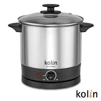 [全新免運]歌林 Kolin 高級不銹鋼美食鍋(1.5L) PK-MN001