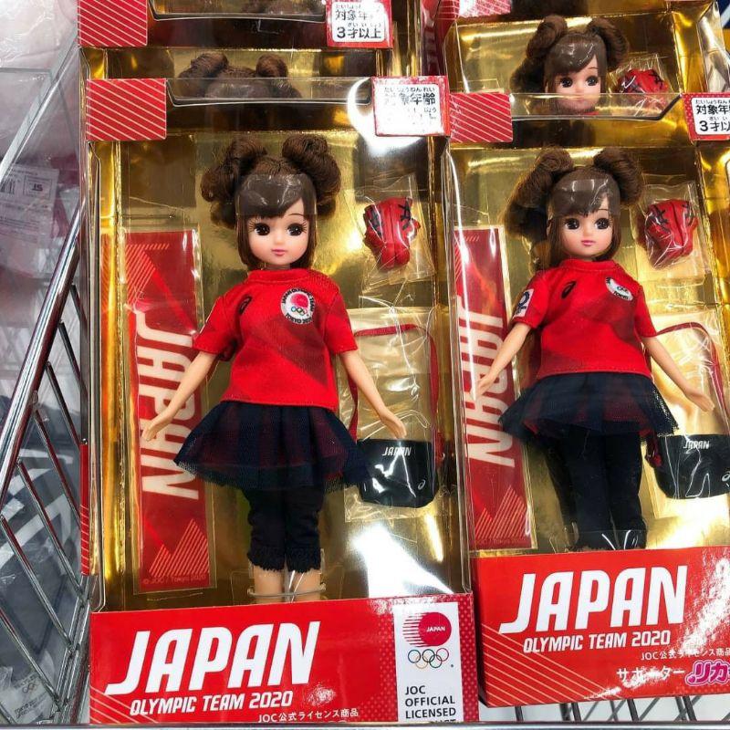現貨!絕對正版!2021年 日本東京奧運 莉卡芭比洋娃娃 粉紅浴衣 東京奧運運動選手 2020限定商品
