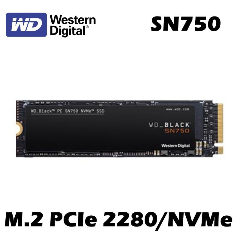 WD 威騰 250G 500G 1TB SN750 黑標 NVMe PCIeM.2 2280 固態硬碟 SSD 5年保