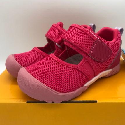 《日本Moonstar》護趾涼鞋 速乾 HI系列機能款-粉紅(14-19.0cm)M2254421SS