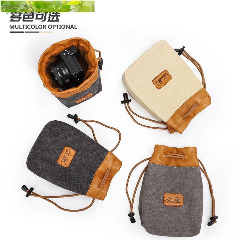 ♚▣小攝影包微單相機包便攜鏡頭袋佳能G7XG5G1索尼黑卡RX100松下LX10/YDS