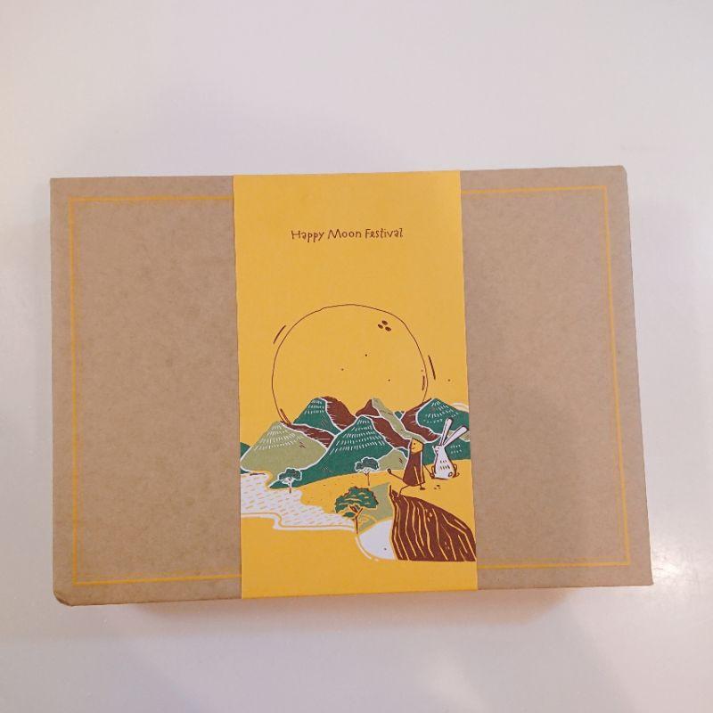 微熱山丘 中秋禮盒 鳳梨奶黃月餅禮盒 10週年限定 附提袋 環保袋 限量款 月餅 送禮 伴手禮 兔子 月亮 玉兔