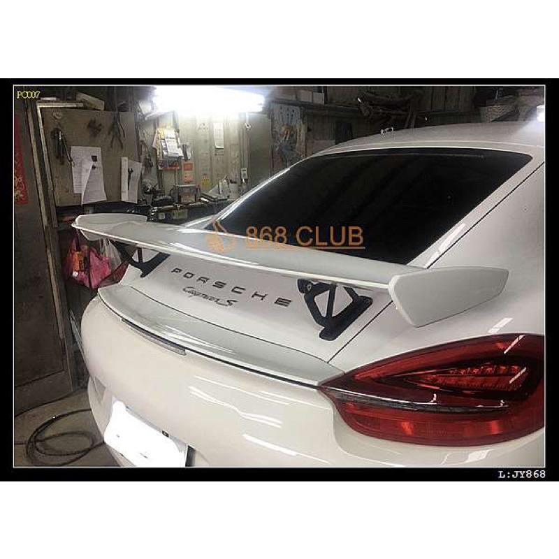 晟信 全新 Porsche 保時捷  718 981 987 改 GT4 尾翼 密合度超好 台灣製造 須報價