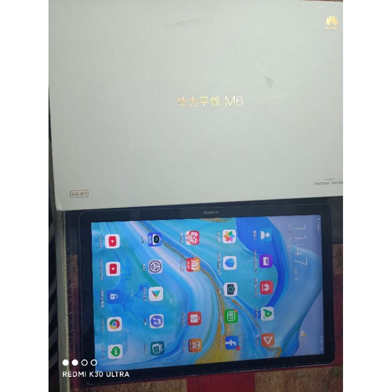 華為平板M6 10.8吋WiFi版 4G/64gb 全套9.8新 不議價