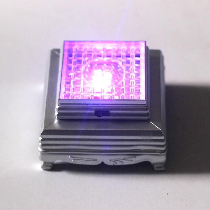 水晶燈座 七彩燈光 led燈座