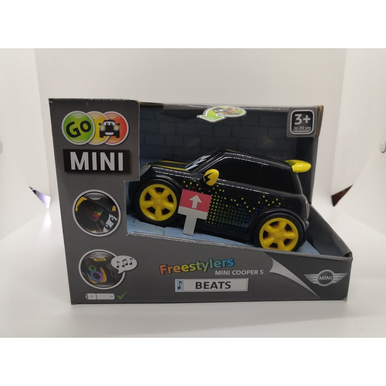 MINI COOPER S 玩具車  【GO MINI Freestylers BEATS】