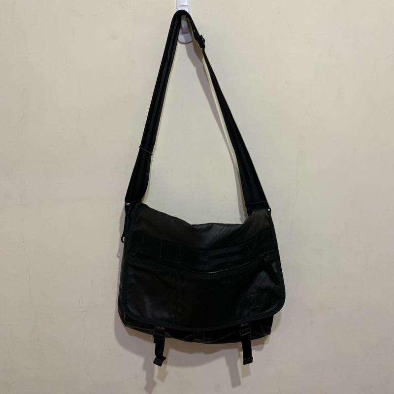「二手包」Porter International 斜背包(黑色)G