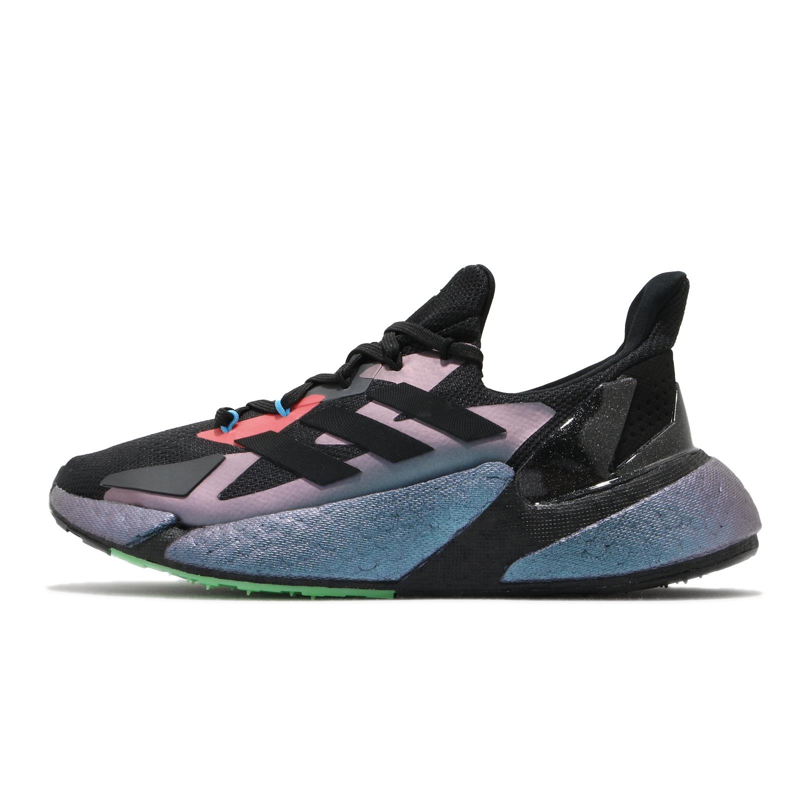 adidas 慢跑鞋 X9000 L4 黑 藍 紫 金屬光澤 愛迪達 男鞋 女鞋 BOOST 【ACS】 FW4910