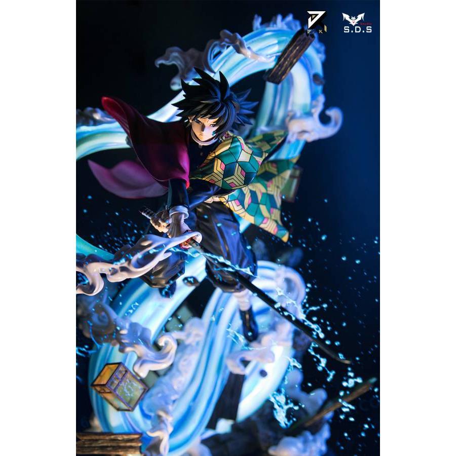 🚀SCC玩具屋《火爆預購》SDS &簡刻 鬼滅之刃柱系列002-水柱 富岡義勇 GK雕像 GK 雕像 完成品