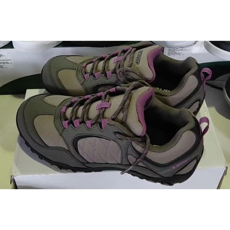 hi-Tec 菱格紋造型登山鞋-出清