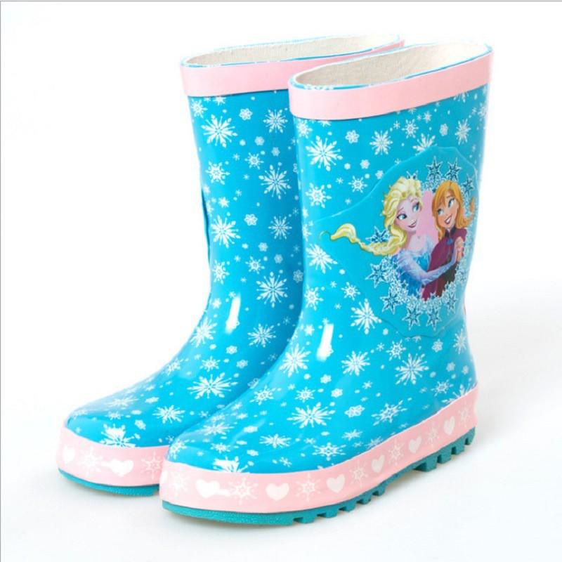 廠家直銷兒童防滑韓版雨鞋寶寶雪女雨靴花公主兒童韓版雨鞋
