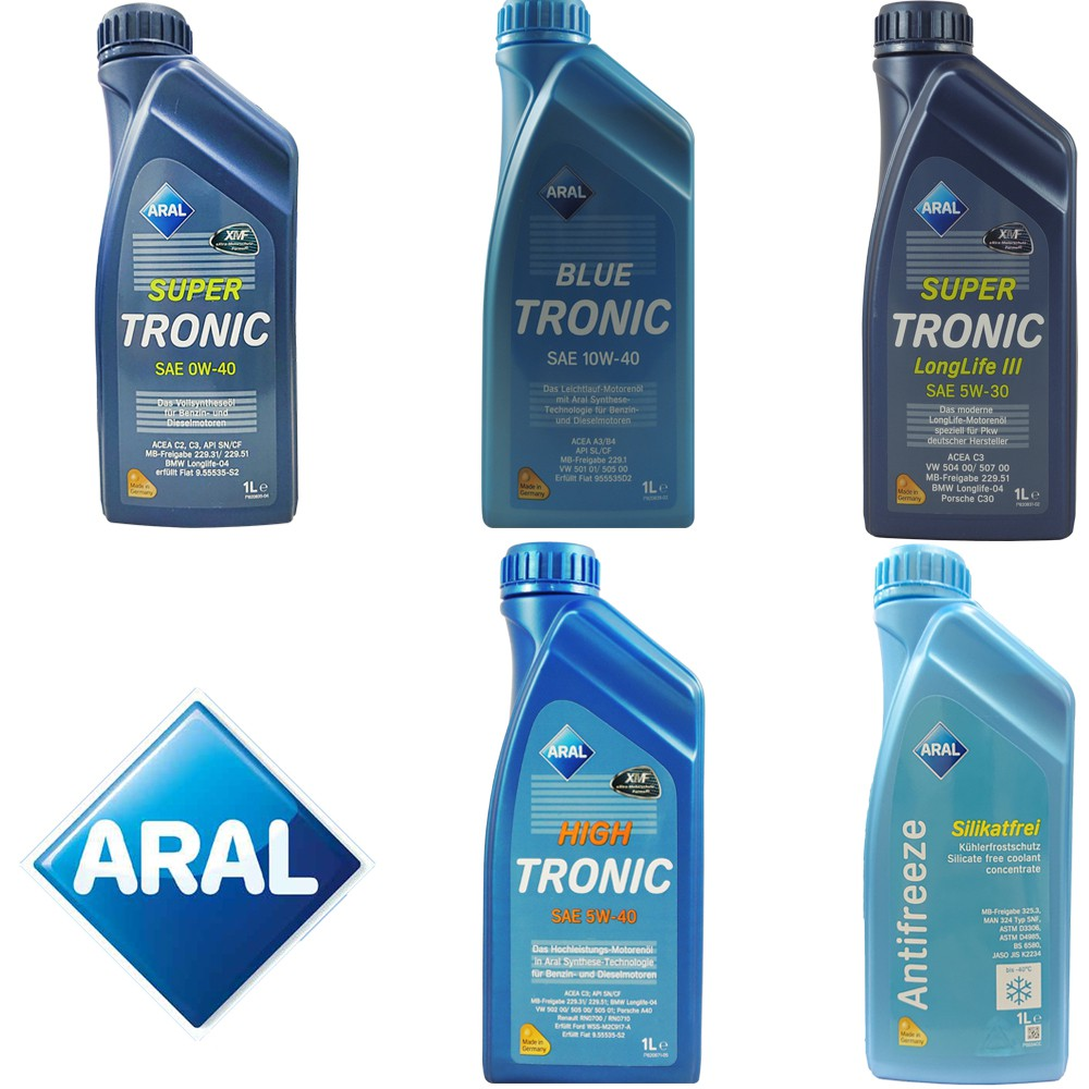 德國 ARAL MC3 LONG 5W30 5W40 0W40 10W40  全 合成機油 水箱精 郊油趣
