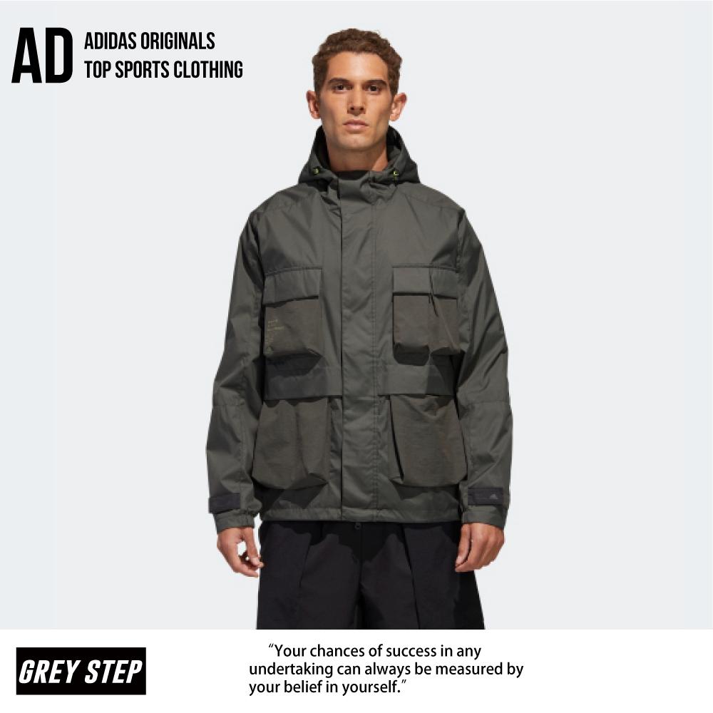 Adidas 愛迪達 TH WB JKT 多口袋 工裝 外套 軍綠 綠色 GF4013 全新正品 統一發票 快速出貨