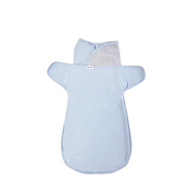 美國Swado-全階段靜音好眠包巾(輕薄透氣款-莫藍迪藍)