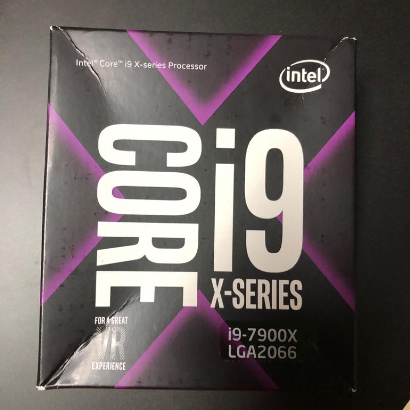 Intel i9-7900X 未拆保內盒裝