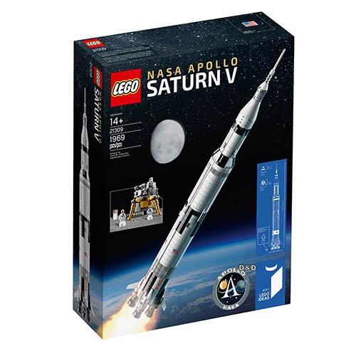 樂高積木 LEGO IDEAS 系列 - LT21309 阿波羅計畫農神5號火箭