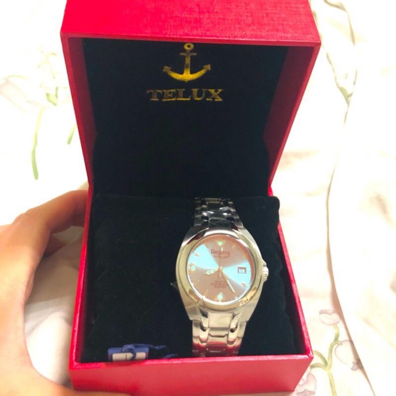 TELUX 鐵力士 夢幻鏡面 手錶 女錶 正品 全新